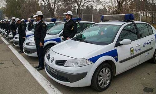 خودروهای پلیس ایران در دهه 90