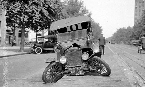 اولين تصادف با ماشين